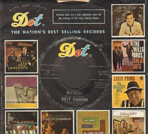 Vaughn, Billy & His Orchestra - Michelle/Elaine - NM9/ - 45 rpm Records