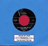 Annette - Train Of Love/Tell Me Who's The Girl (with juke box label) - EX8/ - 45 rpm Records