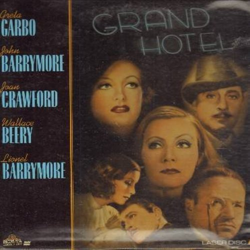 Grand Hotel - Grand Hotel - The 1932 Star-Studded Best Picture Oscar Winner - This is a LASER DISC, NOT ANY OTHER KIND OF MEDIA! - NM9/NM9 - Laser Discs