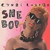 Lauper, Cyndi - She Bop/Witness (with picture sleeve) - M10/NM9 - 45 rpm Records