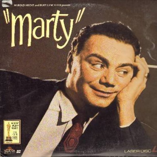 Marty - Marty - The 1955 Best Picture Oscar Winner starring Oscar Winner Ernest Borgnine - THIS IS A LASERDISC, NOT ANY OTHER KIND OF MEDIA! - NM9/EX8 - LaserDiscs