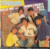 Menudo - Hold Me/When I Dance With You (with RARE picture sleeve featuring a pre-teen Ricky Martin, NICE condition!) - M10/NM9 - 45 rpm Records