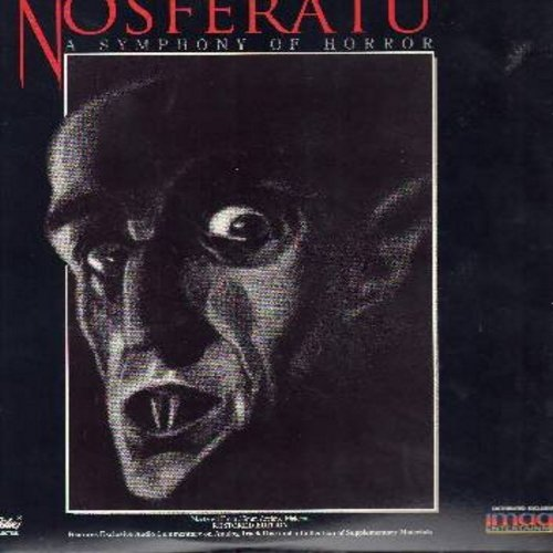 Nosferatu - Nosferatu - The 1922 German Silent Horror Classic, Restored Edition - This is a LASER DISC, NOT ANY OTHER KIND OF MEDIA! - NM9/EX8 - Laser Discs