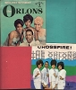Orlons - 2 for 1 Special: South Street (with picture sleeve)/Crossfire! (with picture sleeve)  (2 vintage first issue 45rpm records for the price of 1!) - EX8/VG7 - 45 rpm Records