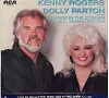 Rogers, Kenny & Dolly Parton - Islands In The Stream/I Will Always Love You (with picture sleeve) - NM9/VG7 - 45 rpm Records