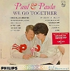 Paul & Paula - We Go Together: Flipped Over You, So Fine, Love Comes Once, You send Me, Pledging My Love (Vinyl MONO LP record) - EX8/EX8 - LP Records