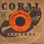 Robin, Tina - Everyday/Believe Me (with vintage Coral company sleeve) - EX8/ - 45 rpm Records
