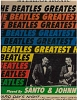 Santo & Johnny - Beatles Greatest Hits: She Loves You, I Want To Hold Your Hand, A Hard Day's Night, Can't Buy Me Love, Please Please Me, The Beatle Stomp, And I Love Her (vinyl STEREO LP record) - VG7/VG7 - LP Records