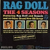 Four Seasons - Rag Doll: Ronnie, Save It For Me, On Broadway Tonight, Huggin' My Pillow, An Angel Cried (Vinyl MONO LP record) - EX8/EX8 - LP Records