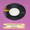 Vee, Bobby - Take Good Care Of My Baby/Bashful Bob (with juke box label) - NM9/ - 45 rpm Records