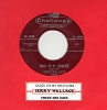 Wallace, Jerry - Angel On My Shoulder/There She Goes (with juke box label) - EX8/ - 45 rpm Records