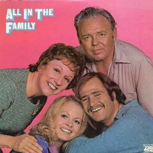 O'Connor, Carroll, Jean Stapleton, Sally Struthers, Rob Reiner - All In The Family: Scenes of the first season on vinyl LP - NM9/EX8 - LP Records