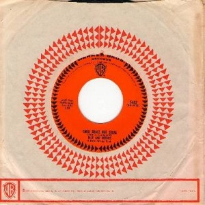 Dick & Dee Dee - Thou Shalt Not Steal/Just 'Round The River Bend (with vintage Warner Brothers company sleeve) - EX8/ - 45 rpm Records