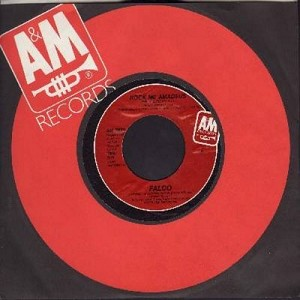 Falco - Rock Me Amadeus (4:08 minutes version + 3:10 minutes version) - NM9/ - 45 rpm Records