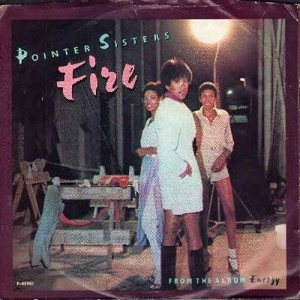 Pointer Sisters - Fire/Love Is Like A Rolling Stone (with Picture sleeve) - NM9/VG7 - 45 rpm Records