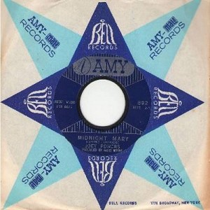 Powers, Joey - Midnight Mary/Where Do You Want The World Delivered (with Amy company sleeve) - NM9/ - 45 rpm Records