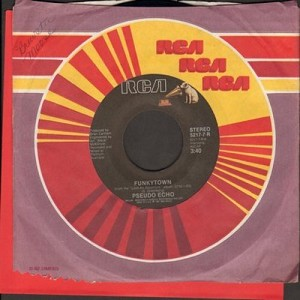 Pseudo Echo - Funkytown/Lies Are Nothing  - EX8/ - 45 rpm Records