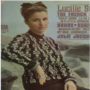 Starr, Lucille - The French Song: Sukiyaka (ENCHANTING French version of the Japanese Hit!), Wooden Heart, Dominique, La Vie En Rose, Release Me, In A Little Spanish Town (Vinyl LP record, US pressing, sung in French and English) - M10/EX8 - LP Records