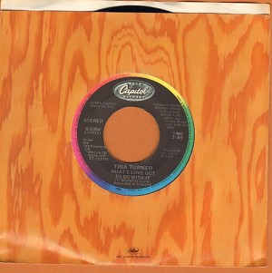 Turner, Tina - What's Love Got To Do With It/Rock And Roll Widow  - EX8/ - 45 rpm Records