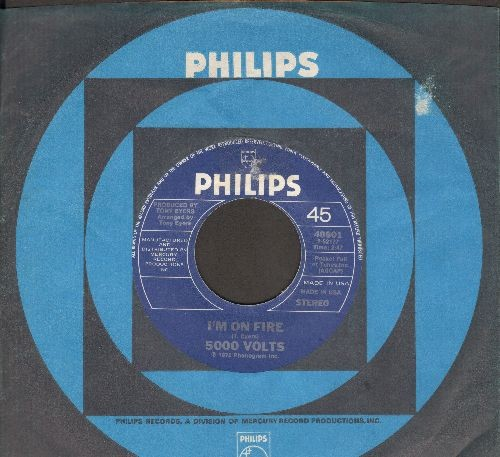 5000 Volts - I'm On Fire/Still On Fire (Winner Grand Prix D'Eurovision 1975!)(MINT condition with Philips company sleeve) - M10/ - 45 rpm Records