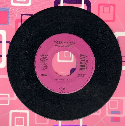 Abdul, Paula - Goodnight, My Love/Will You Marry Me - EX8/ - 45 rpm Records