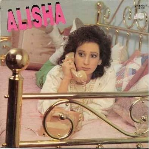 Alisha - Alisha: Baby Talk, All Night Passion, Stargazing, Boys Will Be Boys, One Little Lie, Too Turned On (all titles on this vinyl LP record are the original full-length dance versions!) - M10/EX8 - LP Records