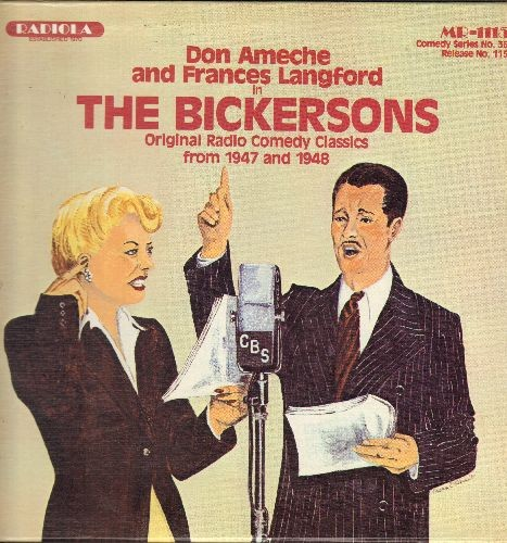 Ameche, Don & Frances Langford - The Bickersons - Original Radio Comedy  Classics: Easter Parade, Blanche's Birthday Present, The Operation, Happy