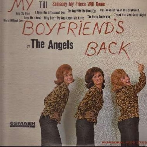 Angels - My Boyfriend's Back: Till, A Night Has A Thousand Eyes(Vinyl MONO LP record) - VG7/VG7 - LP Records