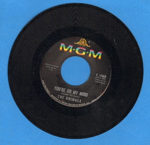 Animals - You're On My Mind/Inside-Looking Out  - EX8/ - 45 rpm Records