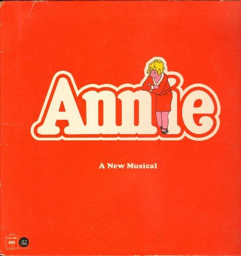 Annie - Annie - A New Musical - Original Broadway Cast (vinyl LP record, gate-fold cover) - NM9/EX8 - LP Records