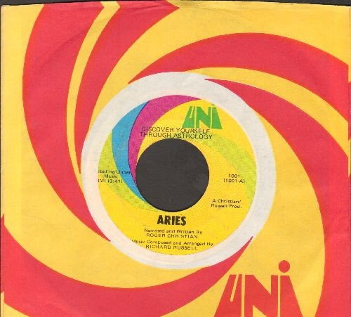 Christian, Roger - Discover Yourself Through Astrology Aries/Introduction (with Uni company sleeve) - VG7/ - 45 rpm Records