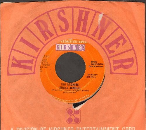 Archies - Jingle Jangle/Justine (with Kirshner company sleeve) - EX8/ - 45 rpm Records