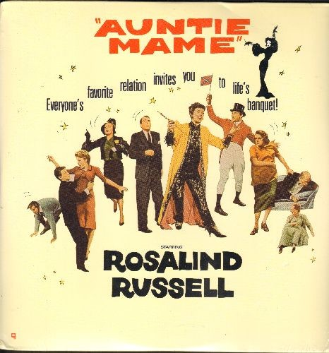 Auntie Mame - Auntie Mame - LASERDISC version of the Classic 1958 Musical starring Rosalind Russell  (This is a SEALED, never opened  set of 2 LASERDISCS, NOT ANY OTHER KIND OF MEDIA!) - SEALED/SEALED - LaserDiscs