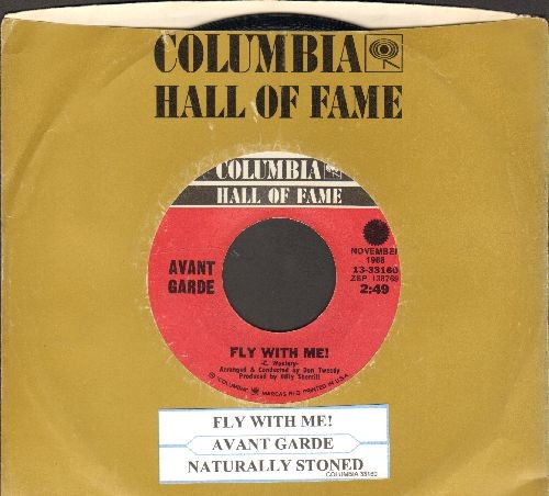 Avant Garde - Naturally Stoned/Fly With Me (double-hit re-issue with Columbia company sleeve) - NM9/ - 45 rpm Records