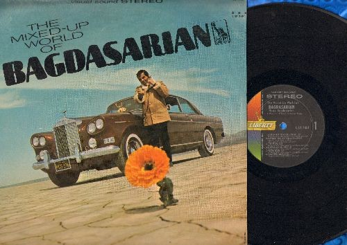 Bagdasarian, Ross (David Seville) - The Mixed-Up World Of Bagdasarian: Gotta Get To Your House, Russian Roulette, The Prom, Armen's Theme, Maria From Madrid (Vinyl STEREO LP record) - NM9/NM9 - LP Records