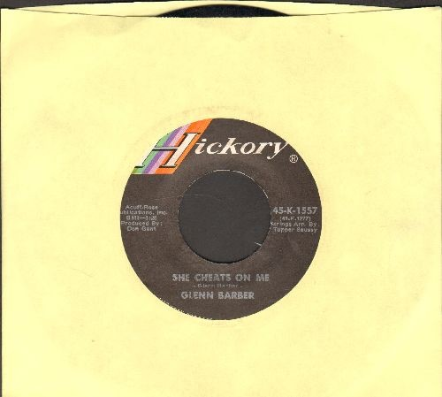 Barber, Glenn - She Cheats On Me/Who's Taking The Picture - NM9/ - 45 rpm Records