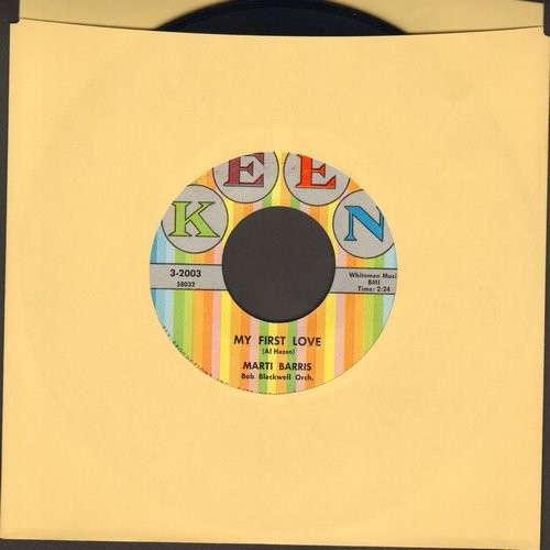 Barris, Marti - My First Love/Scottish Fling  - NM9/ - 45 rpm Records