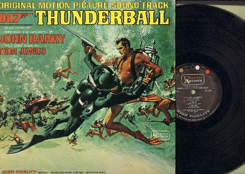 Barry, John - Thunderball - Original Motion Picture Sound Track arranged  and conducted by John Barry featuring Title Song by Tom Jones (Vinyl MONO  LP