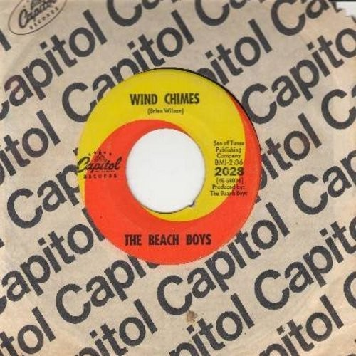 Beach Boys - Wild Honey/Wind Chimes (with Capitol company sleeve) - EX8/ - 45 rpm Records