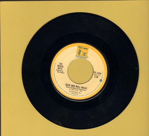 Beach Boys - Rock And Roll Music/The T M Song (MINT condition!) - M10/ - 45 rpm Records