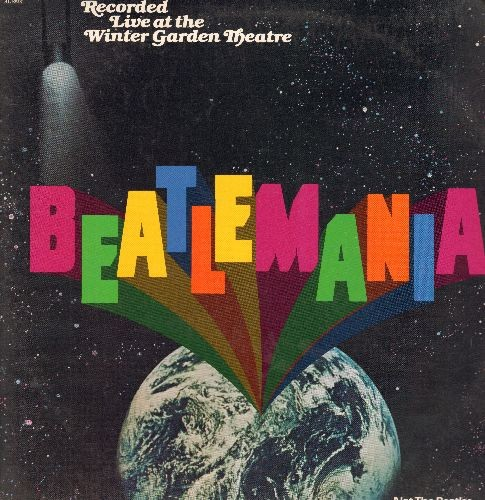 Beatlemania - Beatlemania - Recorded Live at the Winter Garde Theatre - Not The Beatles, An Incredible Simulation (2 vinyl LP record set, gate-fold cover, RARE DJ PROMO Pressing) - NM9/EX8 - LP Records