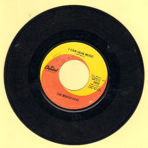 Beach Boys - I Can Hear Music/All I Want To Do (wol) - VG6/ - 45 rpm Records