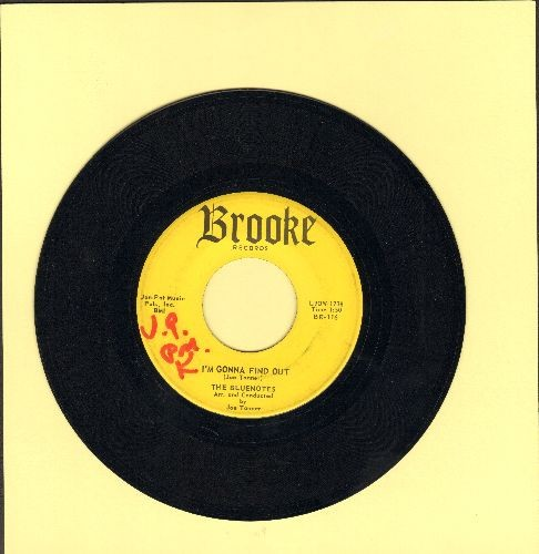 Bluenotes - I'm Gonna Find Out/Forever On My Mind (wol) - EX8/ - 45 rpm Records