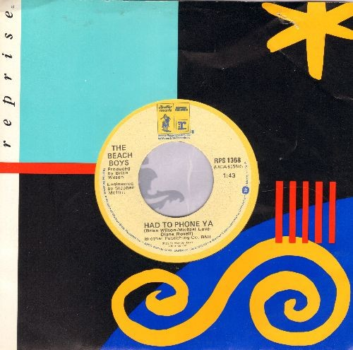 Beach Boys - Had To Phone Ya/It's O.K. (with Reprise company sleeve) - NM9/ - 45 rpm Records