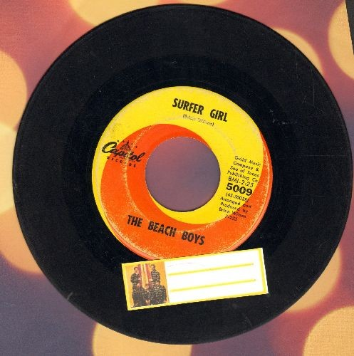 Beach Boys - Surfer Girl/Little Deuce Coupe  - VG6/ - 45 rpm Records