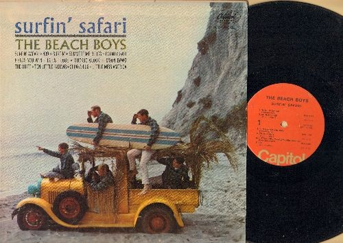 Beach Boys - Surfer Girl: Little Deuce Coupe, In My Room, Boogie Woogie (Vinyl MONO LP record, 1970s pressing) - VG7/VG7 - LP Records