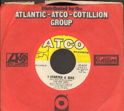 Bee Gees - I Started A Joke/Kilburn Towers (with Atco company sleeve) (wol) - NM9/ - 45 rpm Records