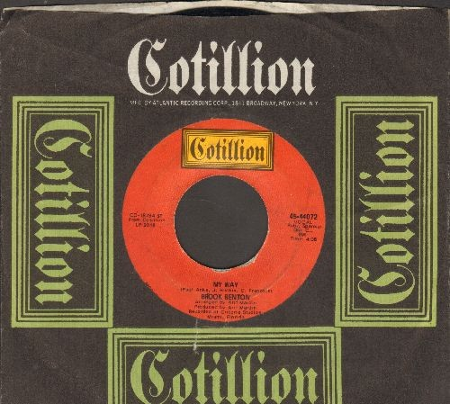 Benton, Brook - My Way/A Little Bit Of Soul (with RARE Cotillion company sleeve) - NM9/ - 45 rpm Records