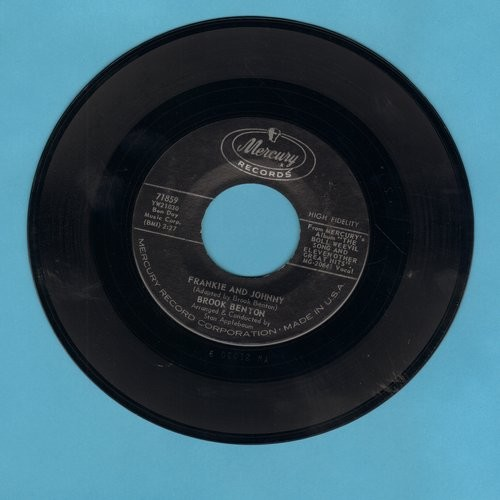 Benton, Brook - Frankie And Johnny/It's Just A House Without You - NM9/ - 45 rpm Records
