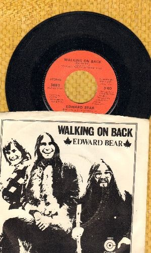 Bear, Edward - Walking On Back/I Love Her (You Love Me) (with picture sleeve) - NM9/EX8 - 45 rpm Records